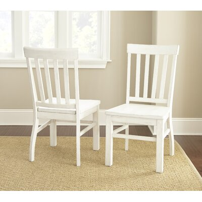 Grant Dining Side Chair (Set of 2) Chair Finish: Antique White