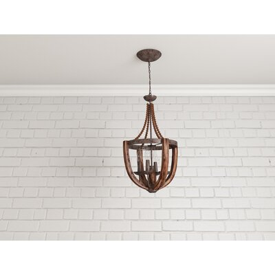 Sylvie 4-Light Candle-Style Chandelier