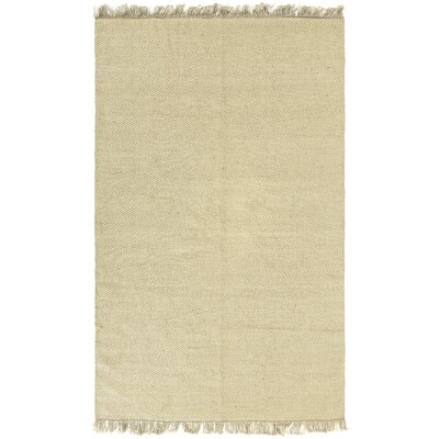 Synthia Natural Area Rug Rug Size: 9 x 12
