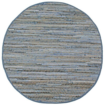 Synthia Handcrafted Area Rug Rug Size: Round 5