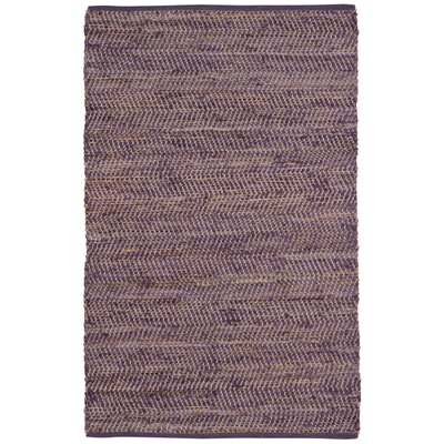 Synthia Purple Area Rug Rug Size: 9 x 12