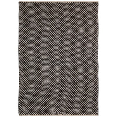 Synthia Hand-Woven Brown Area Rug Rug Size: 9 x 12