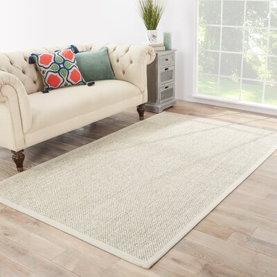 Alaska Natural/Ivory Area Rug Rug Size: Rectangle 5 x 8