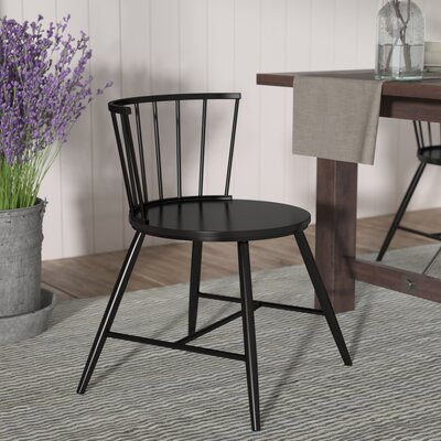 Athis Side Chair Finish: Black