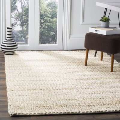 Eco-Smart Hand-Woven Bleach Area Rug Rug Size: 4 x 6