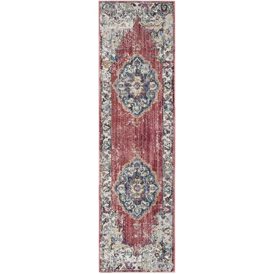 Sahraoui Gray/Light Gray Area Rug Rug Size: Runner 23 X 12