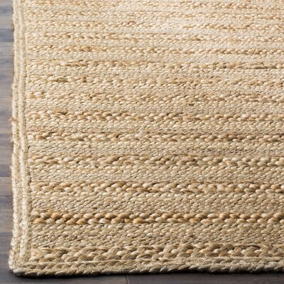 Renovo Hand-Woven Natural Area Rug Rug Size: 8 x 10