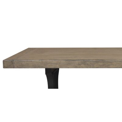 Fort Oglethorpe Plank Style Gathering 36.75 Dining Table