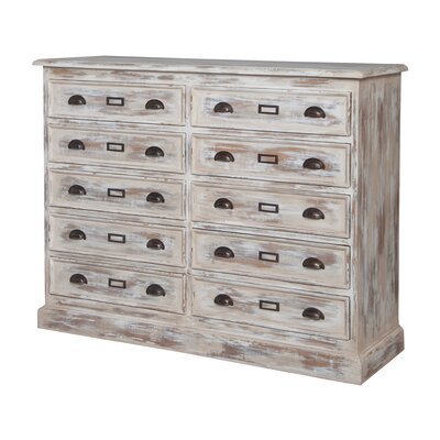 Dorothee 10 Drawer Double Dresser