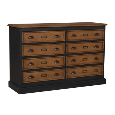 Dorothee 8 Drawer Double Dresser