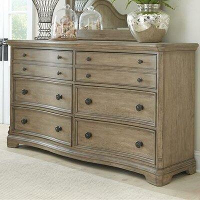 Cleo 6 Drawer Standard Dresser