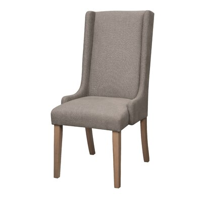 Gillespie Side Chair Upholstery: Charcoal