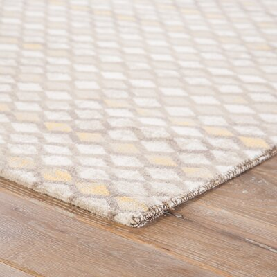 Harwinton Taupe/Walnut Area Rug Rug Size: Rectangle 2 x 3