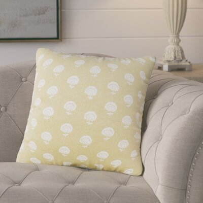 Whigham Throw Pillow Color: Citron