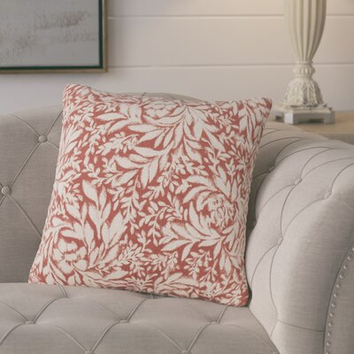 Whitney Throw Pillow Color: Rust