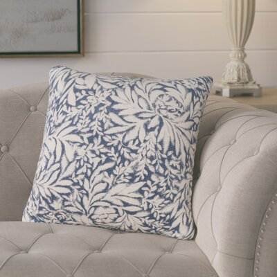 Whitney Throw Pillow Color: Indigo