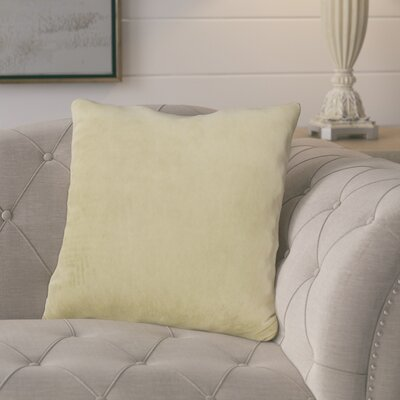 Parinaaz Throw Pillow Color: Verde