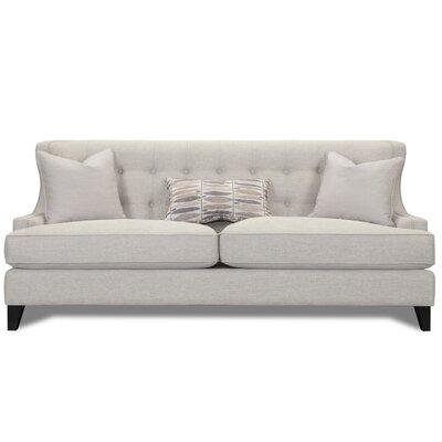 Carson Wingback Sofa Upholstery: Cream