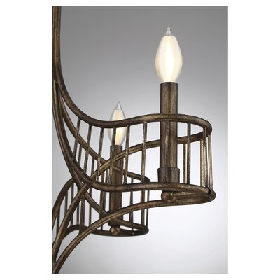 Mindaugas 4-Light Candle-Style Chandelier
