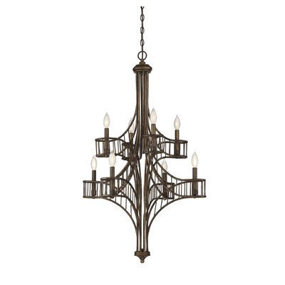 Mindaugas 8-Light Candle-Style Chandelier