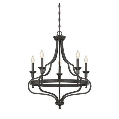 Jaycee 5-Light Candle-Style Chandelier