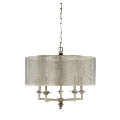 Freeburg 5-Light Drum Chandelier
