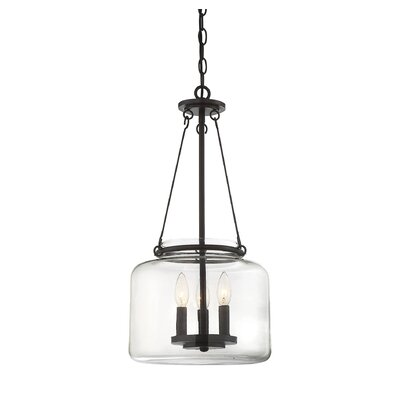 Jean-Baptiste 3-Light Foyer Pendant Finish: English Bronze