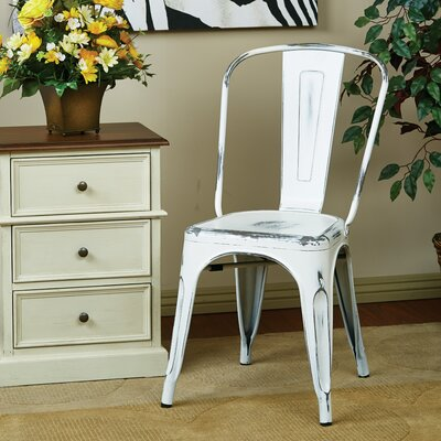 Fineview Side Chair Finish: Antique White