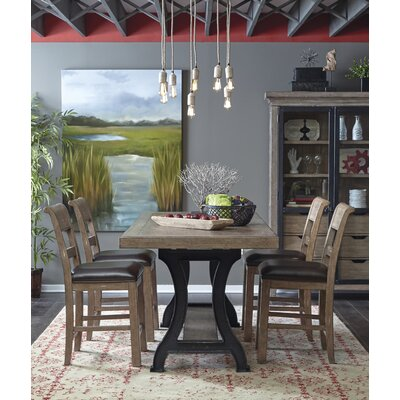 Fort Oglethorpe 5 Piece Dining Set