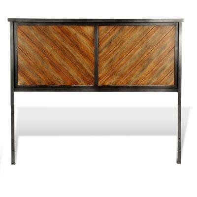 Yardley Metal Panel Headboard Size: King
