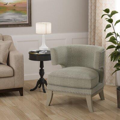 Sandra Barrel Chair Upholstery: Gray