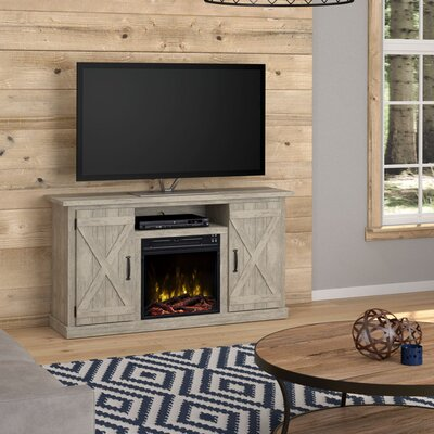 Serein 48 TV Stand with Fireplace Color: Ashland Pine
