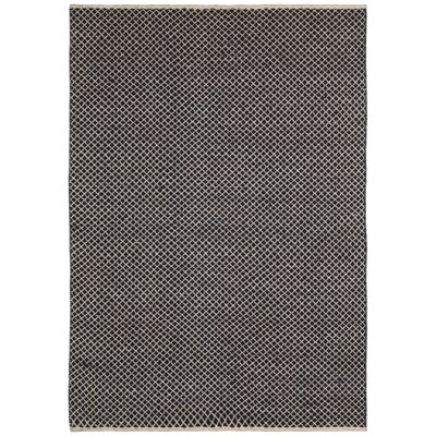 Synthia Hand-Woven Brown Area Rug Rug Size: 10 x 14
