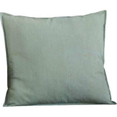 Columbine 100% Cotton Throw Pillow Color: Green
