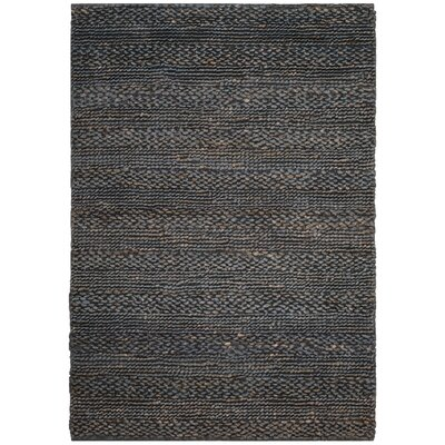 Eco-Smart Hand-Woven Gray Area Rug Rug Size: Rectangle 4 x 6