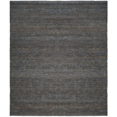 Eco-Smart Hand-Woven Gray Area Rug Rug Size: Rectangle 8 x 10