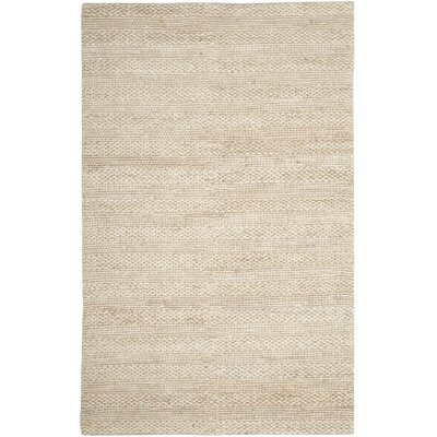 Eco-Smart Hand-Woven Bleach Area Rug Rug Size: Square 6