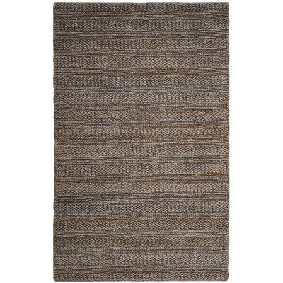 Eco-Smart Hand-Woven Beige Area Rug Rug Size: Rectangle 5 x 8