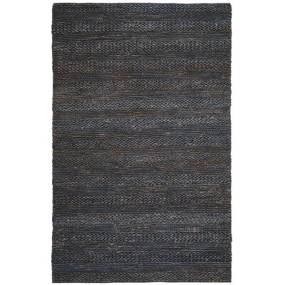 Eco-Smart Hand-Woven Gray Area Rug Rug Size: Rectangle 5 x 8