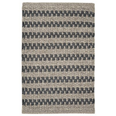 Havana Hand-Woven Gray Indoor/Outdoor Area Rug Rug Size: 2 x 3