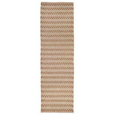 Havana Hand-Woven Natural Indoor/Outdoor Area Rug Rug Size: Runner 2 x 8