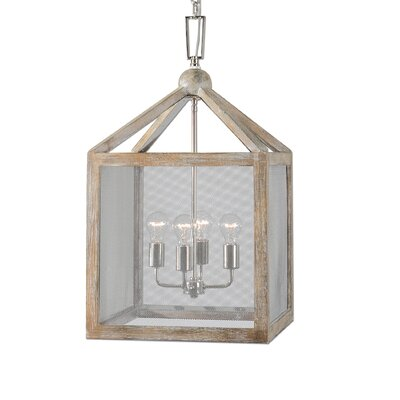 Faustine 4-Light Foyer Lantern Pendant