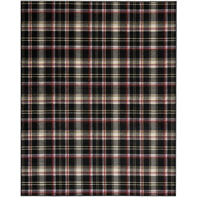Longmont Black Indoor Area Rug Rug Size: Rectangle 710 x 910