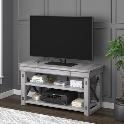 Gladstone 47.5 TV Stand Finish: Rustic White