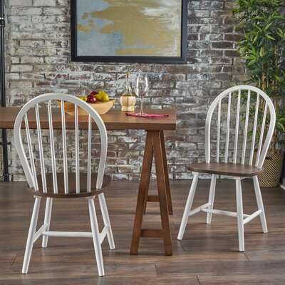 Snydertown Dining Chair Color: White