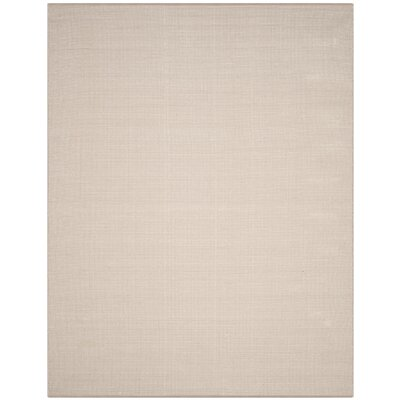 Oxbow Hand-Woven Ivory/Gray Area Rug Rug Size: Rectangle 10 x 14