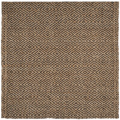 Grassmere Hand-Woven Area Rug Rug Size: Square 5
