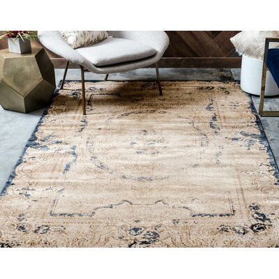 Abbeville Cream Area Rug Rug Size: Runner 3 x 13