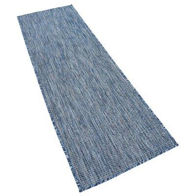 Janet Blue Indoor/Outdoor Area Rug Rug Size: Runner 2 x 6