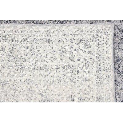 Abbeville Dark Blue/Gray Area Rug Rug Size: Rectangle 4 x 6